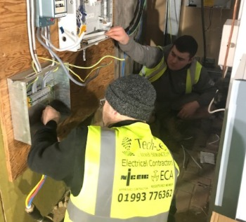 Recruitment electricians