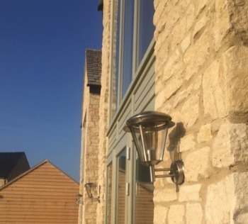 Design services outdoor security light